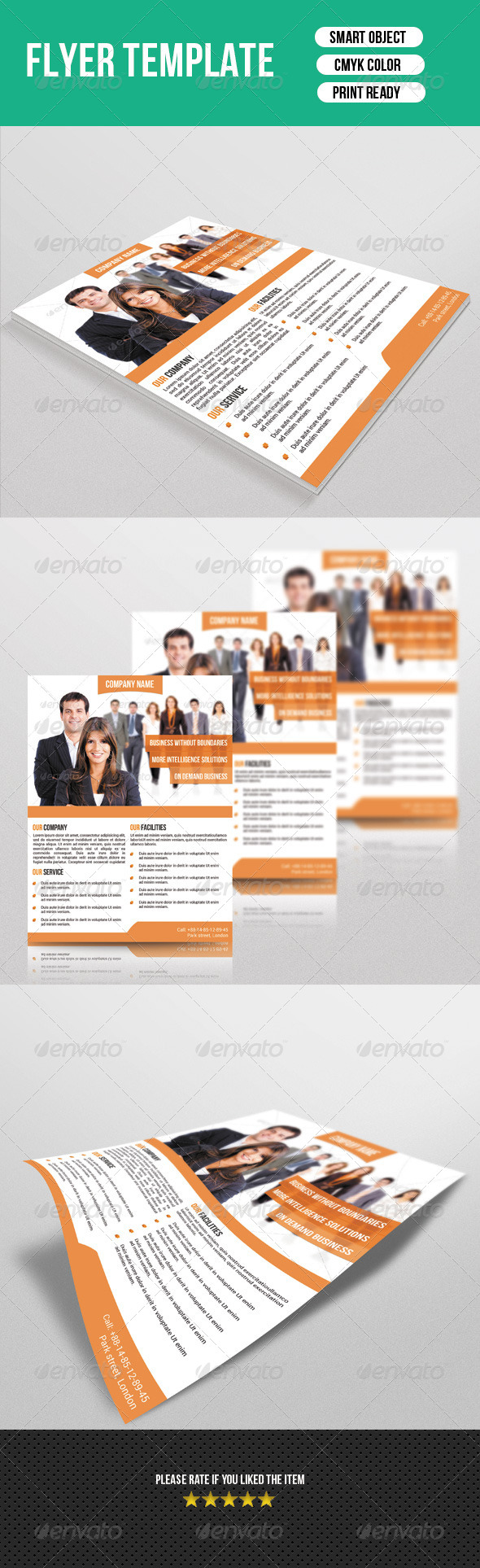 GraphicRiver Corporate Flyer 7111728