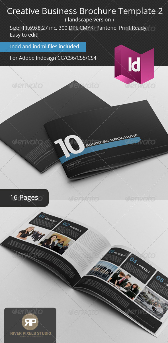 GraphicRiver Creative Business Brochure II Landscape 7152312