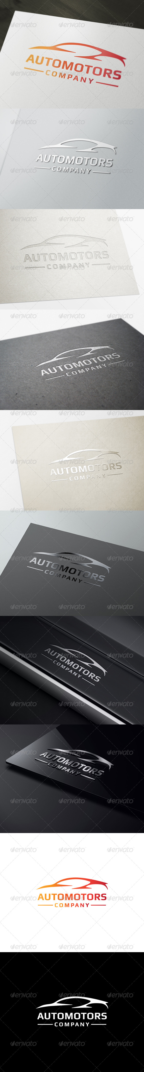GraphicRiver Automotors Logo Template 7154460