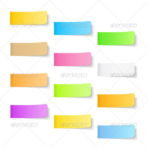 GraphicRiver Sticky Papers 7155427
