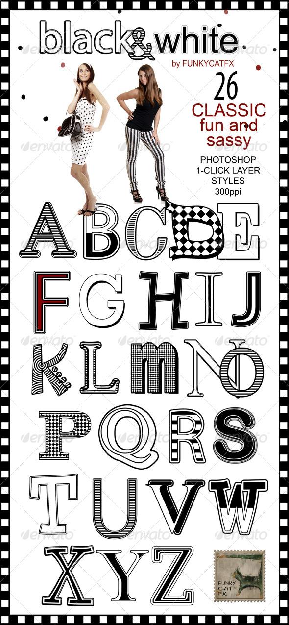 GraphicRiver 26 Black White Classic Styles 7155726