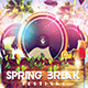 Spring Break Festival - GraphicRiver Item for Sale