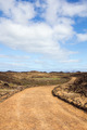 Curvy path on island of Los Lobos, Canary Islands - PhotoDune Item for Sale