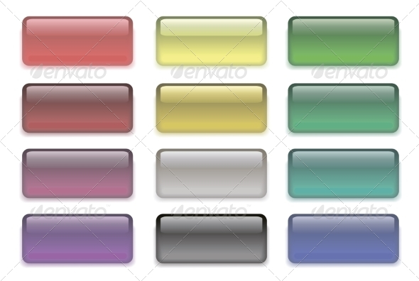 GraphicRiver Set of Colored Buttons 7157778