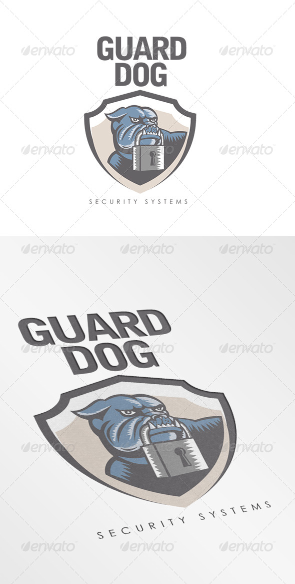 GraphicRiver Guard Dog Security Systems Logo 7157846