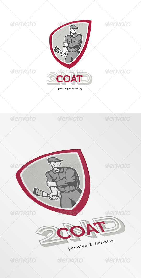 GraphicRiver Second Coat Painting and Finishing Logo 7158098