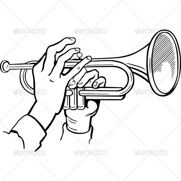GraphicRiver Trumpet 7158456