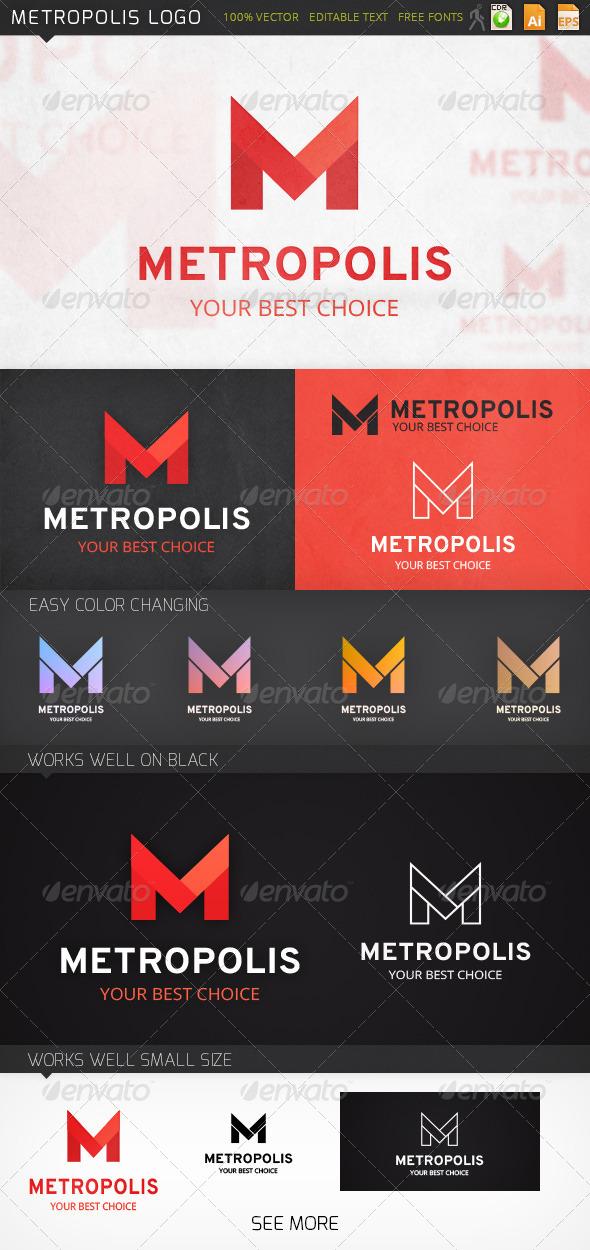 GraphicRiver Metropolis Logo 7159712