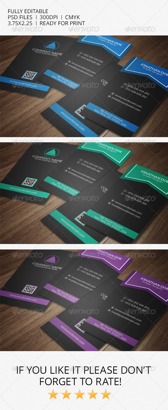 GraphicRiver Creative Business Card 7160106
