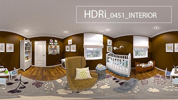 3DOcean 0451 Interoir HDRi 7160906