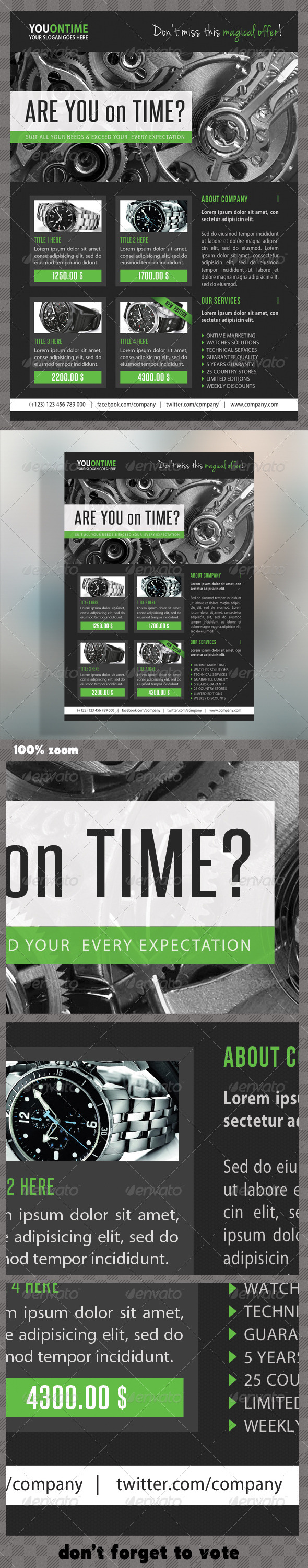 GraphicRiver Corporate Product Flyer 71 7161114