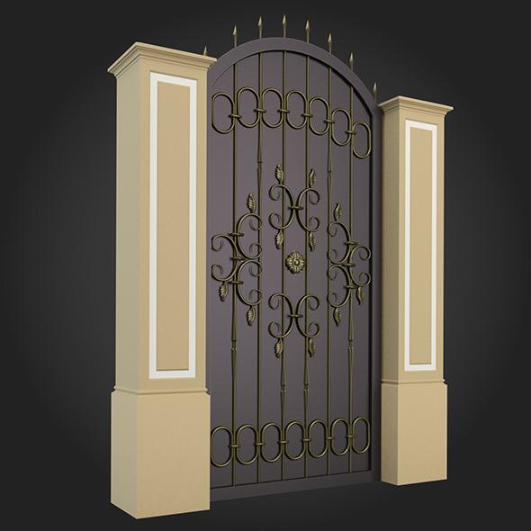3DOcean Gate 002 7162070