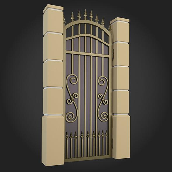 3DOcean Gate 004 7162088