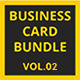 Business Card Bundle | Vol.02 - GraphicRiver Item for Sale
