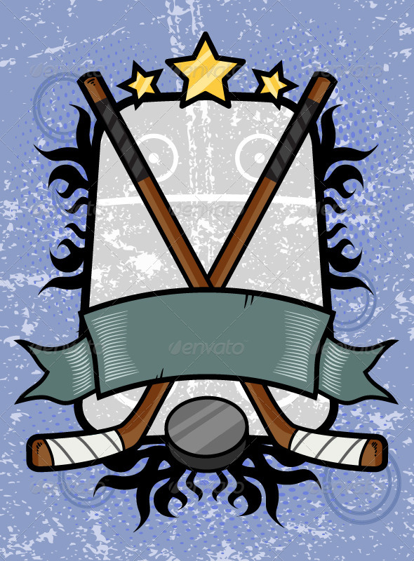 GraphicRiver Hockey Emblem 7162487