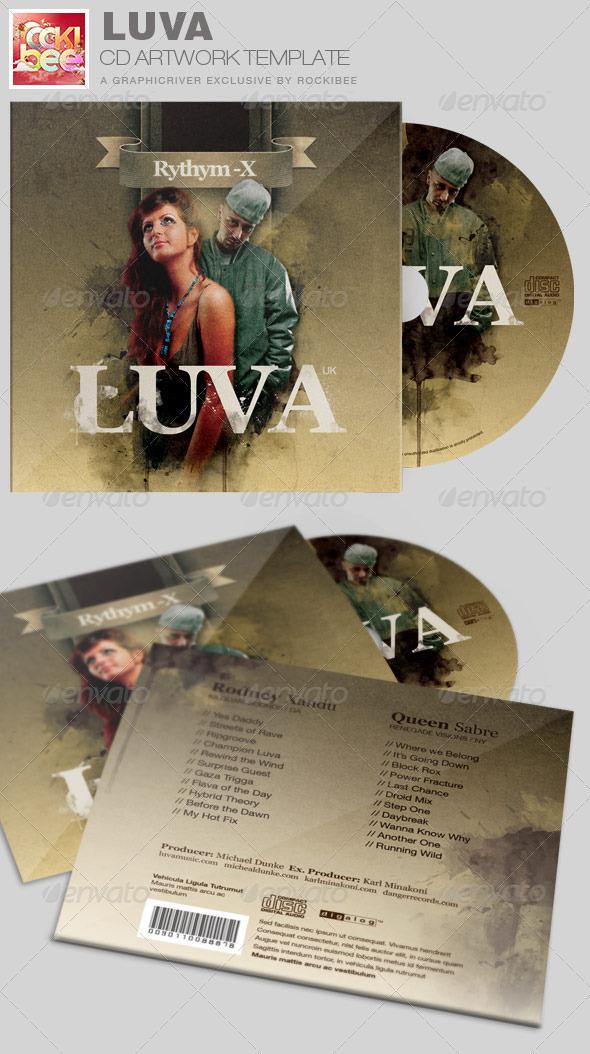 GraphicRiver Luva Album Release CD Artwork Template 7162789