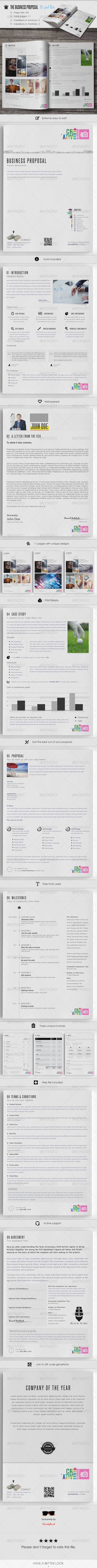 GraphicRiver The Business Proposal 7163568