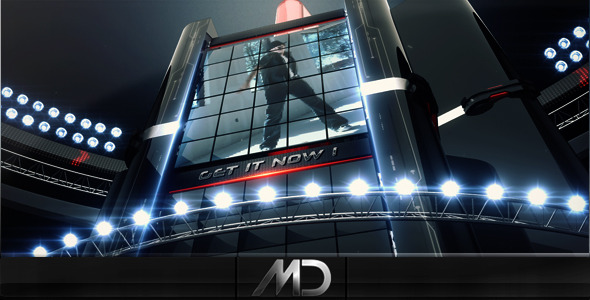 After Effects Project - VideoHive BlacKnight II 492678