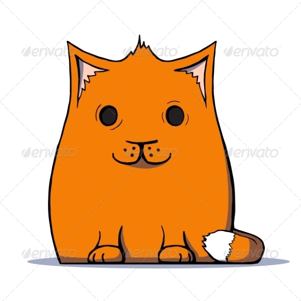GraphicRiver Cartoon Cat 7164441