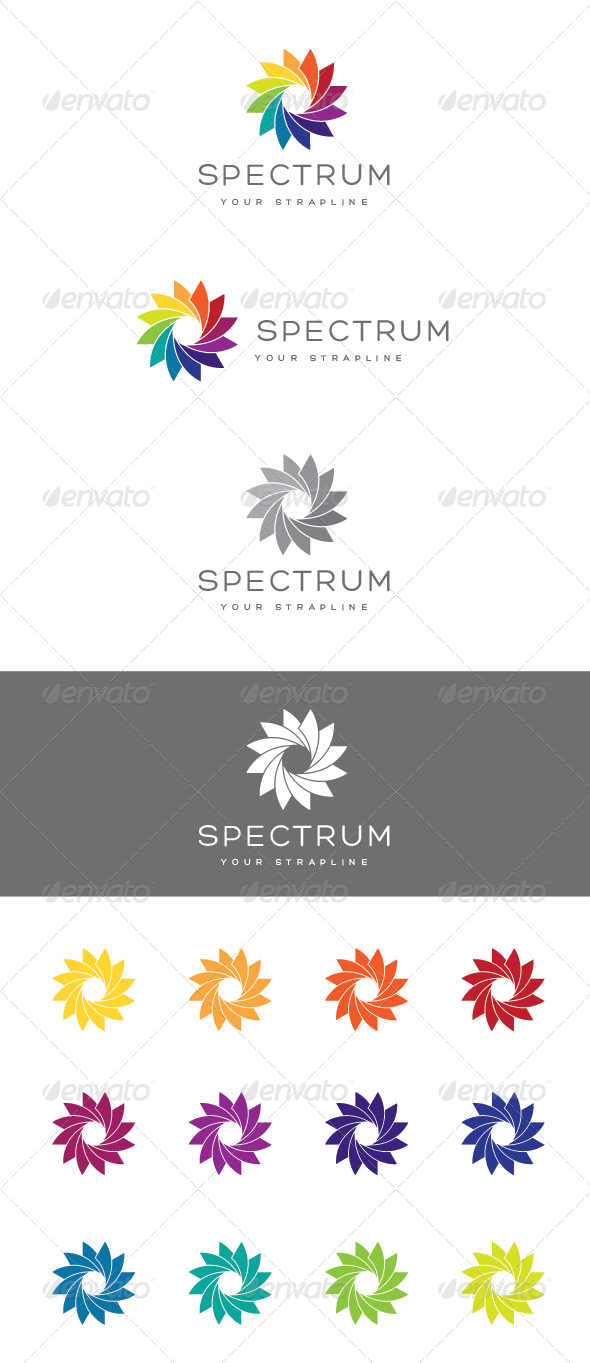 GraphicRiver Spectrum Logo 7156442