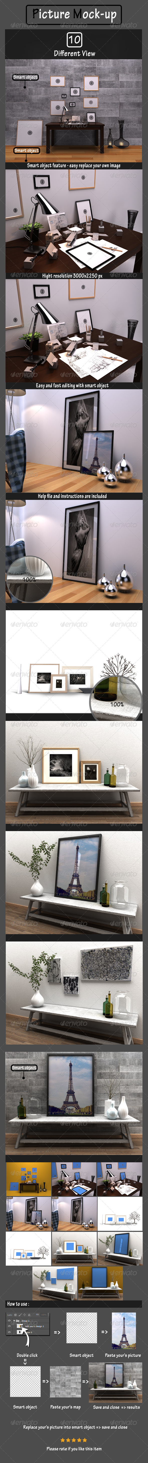 GraphicRiver Picture Mockup 7139721