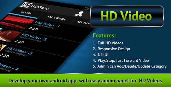 CodeCanyon HD Video 7170089