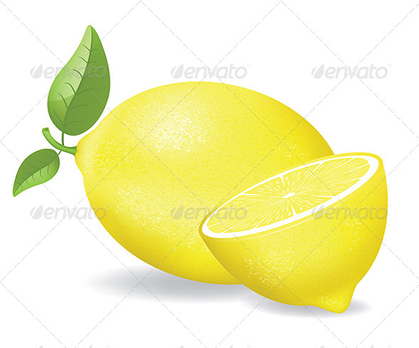 GraphicRiver Fresh Lemons 7159592