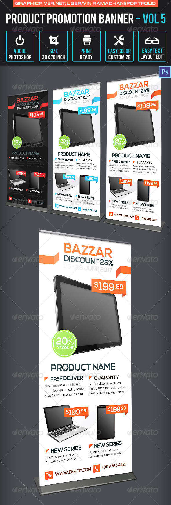 GraphicRiver Product Promotion Banner Volume 5 7171425