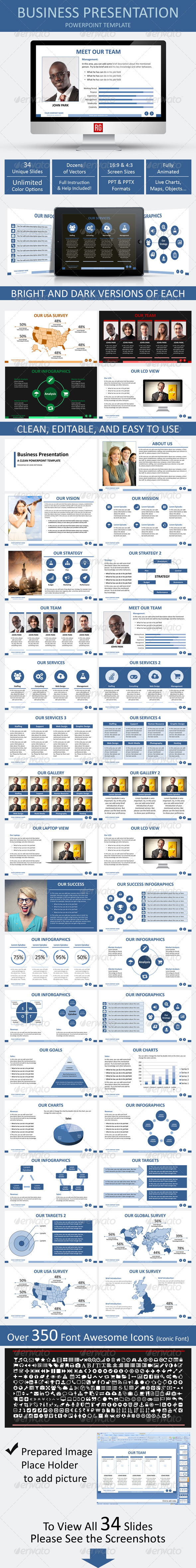 GraphicRiver Business Presentation 7174310