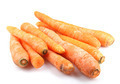Carrots isolated on white background - PhotoDune Item for Sale