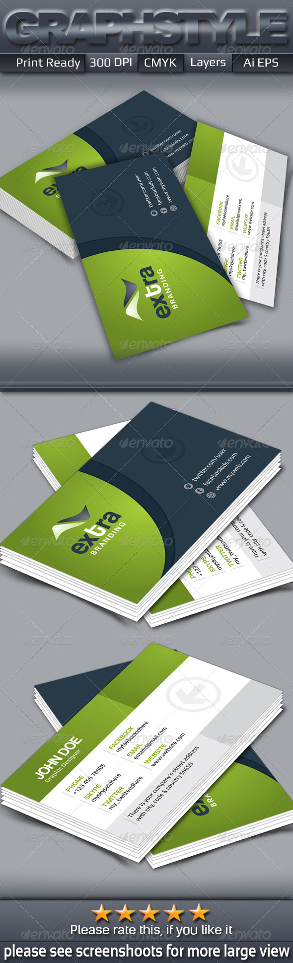 GraphicRiver Creative Business Card 7175972