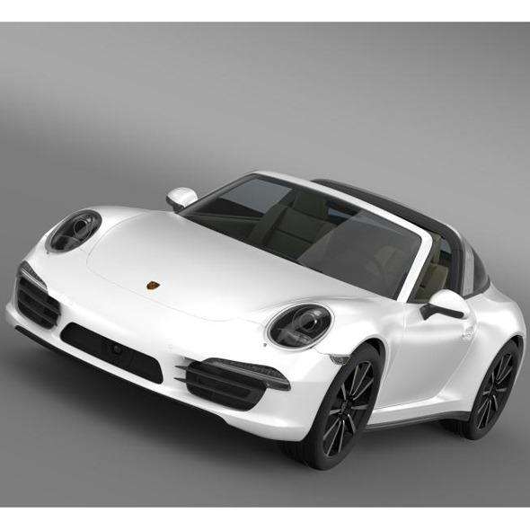 3DOcean Porsche 911 Targa 4s 2014 7178101