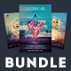 Geometric Flyer Bundle Vol.02 - GraphicRiver Item for Sale