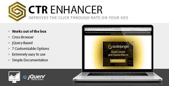 CTR Enhancer JS - Tool for advertising publishers - CodeCanyon Item for Sale