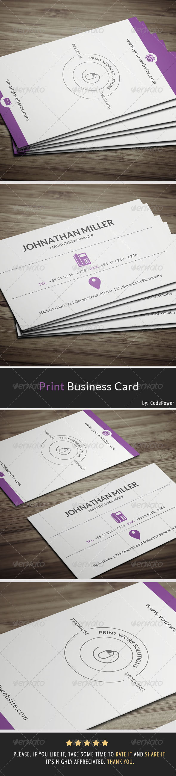 GraphicRiver Print Business Card 7184688
