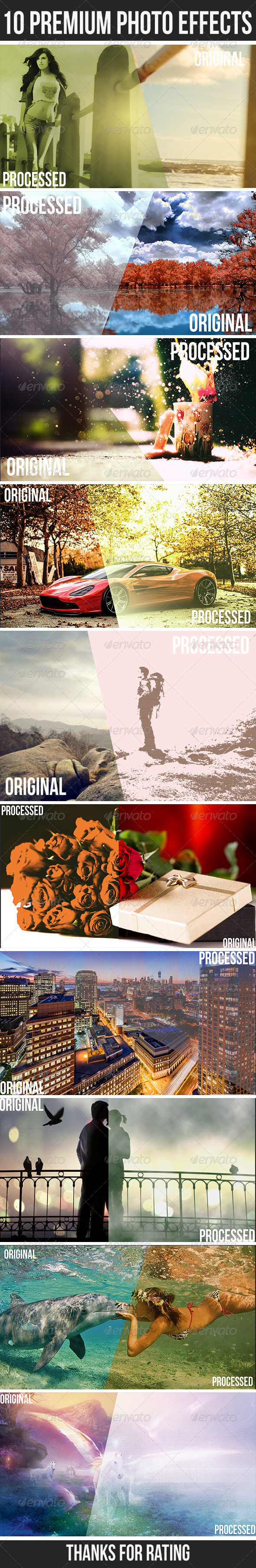 GraphicRiver 10 Premium Photo Effects 7184698