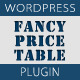 Fancy Price Table - WordPress Price Table Plugin - CodeCanyon Item for Sale