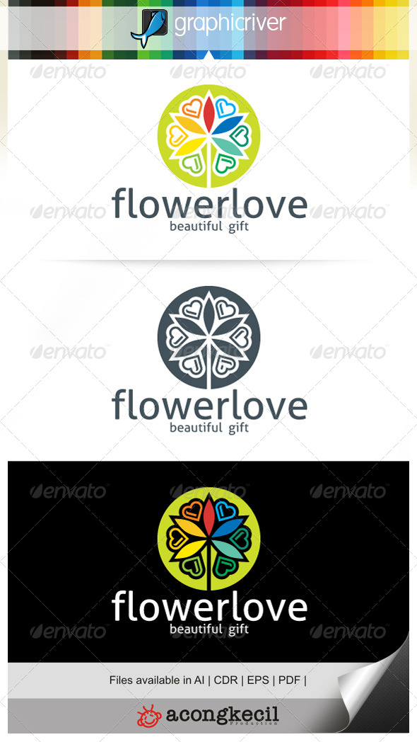 GraphicRiver Flower Love V.3 7185654