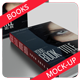 Photorealistic Book Cover Mock-Up  - GraphicRiver Item for Sale