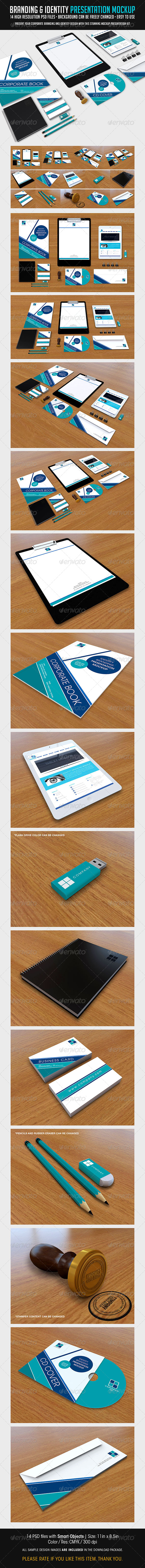 GraphicRiver Branding And Identity Presentation Mockup 7187821