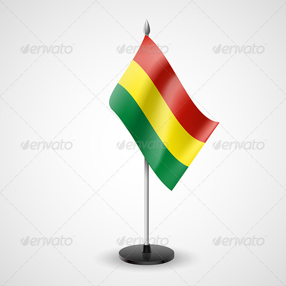 GraphicRiver Table Flag of Bolivia 7190638