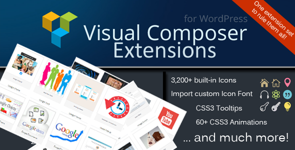 CodeCanyon Visual Composer Extensions 7190695