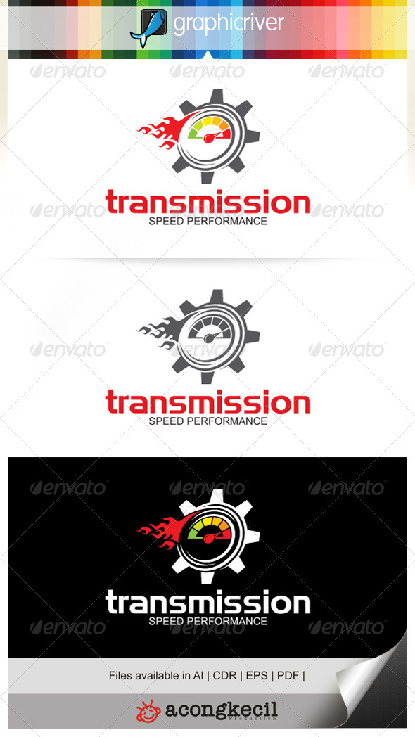 GraphicRiver Gear Speed 7190918