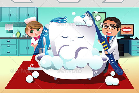 GraphicRiver Concept of Dental Hygiene 7191107