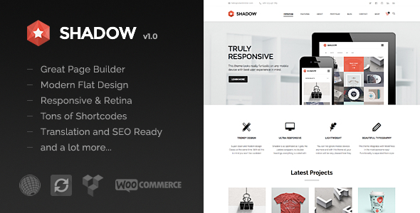 ThemeForest Shadow Responsive & Retina Multi-Purpose Theme 7126890