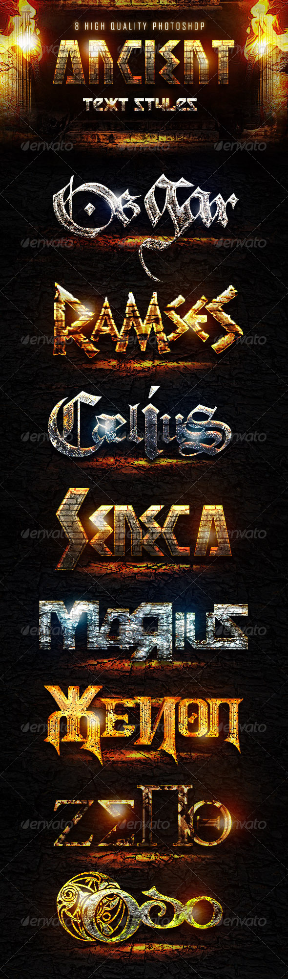 GraphicRiver Ancient Styles 7192241
