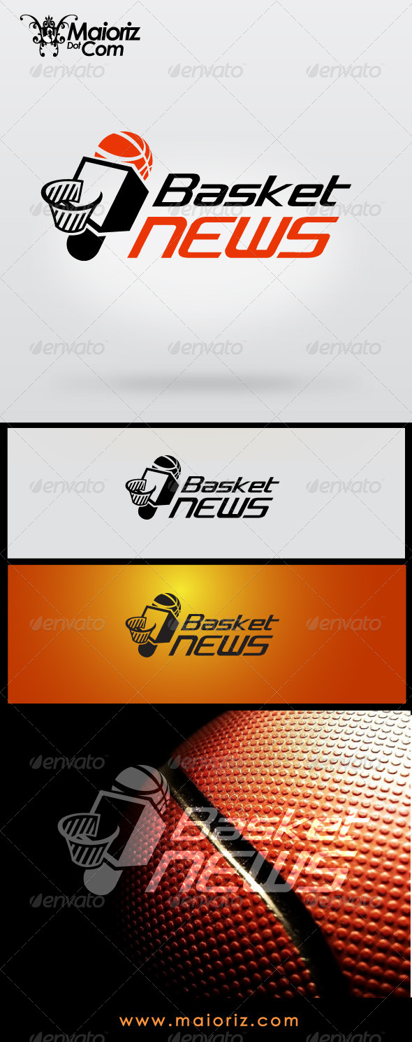 GraphicRiver Basket News Logo 7192267