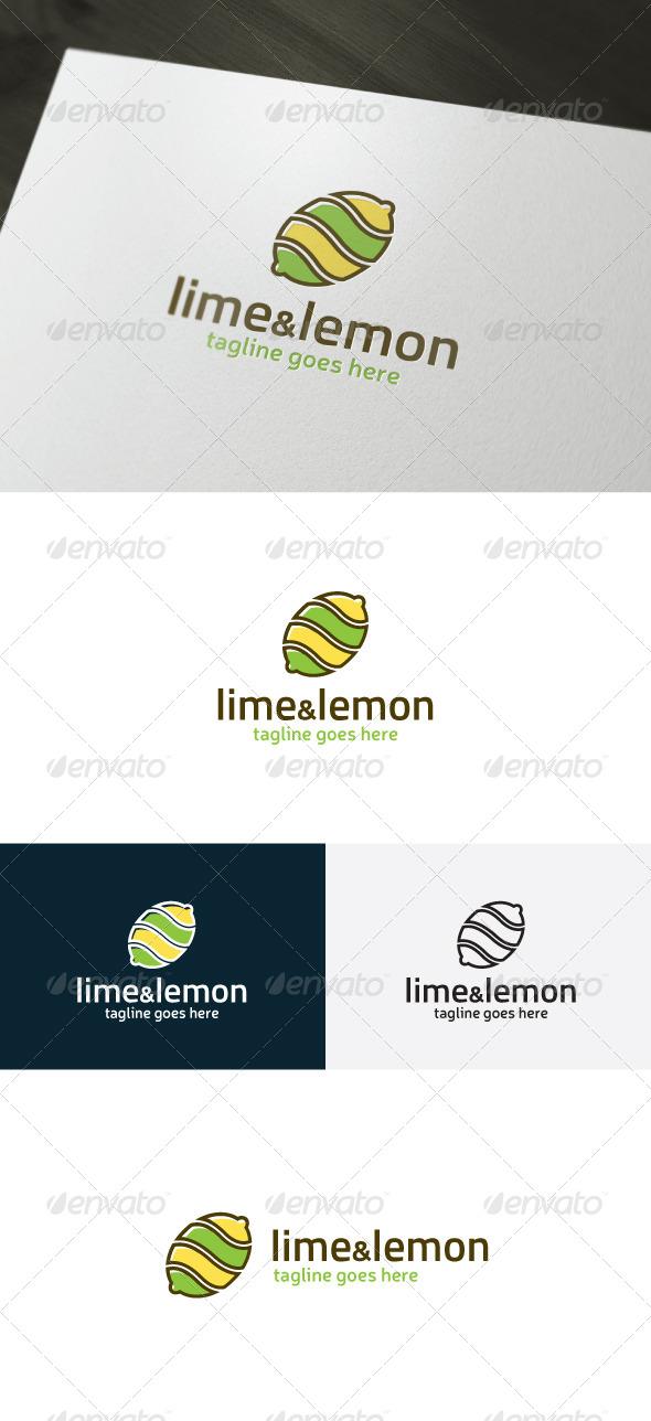 GraphicRiver Lime And Lemon Logo 7192802