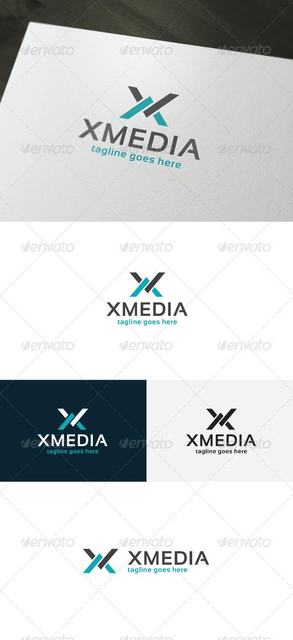 GraphicRiver Xmedia Logo Letter X 7192886