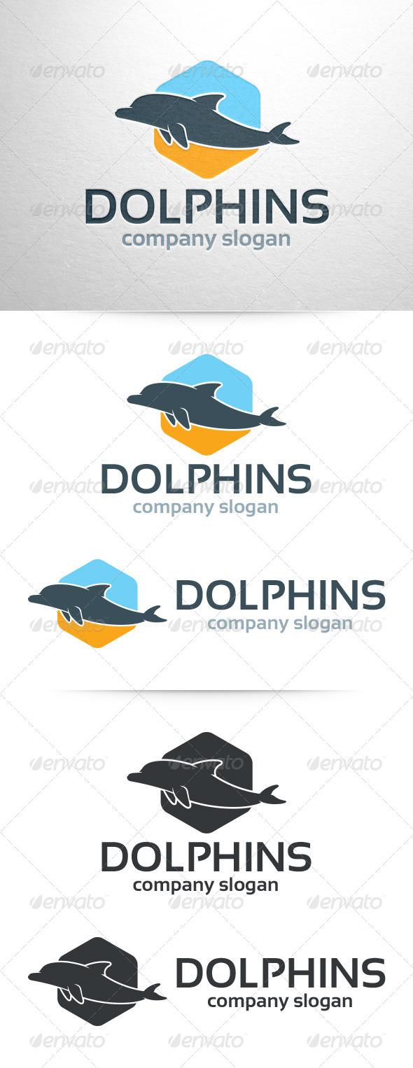 GraphicRiver Dolphin Logo Template 7193537
